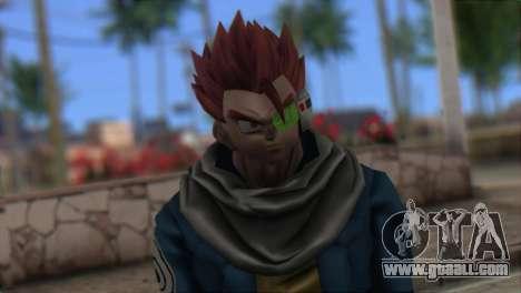 Dragon Ball Xenoverse Mysterious Warrior for GTA San Andreas third screenshot
