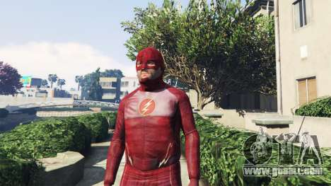 GTA 5 The Flash Costume second screenshot