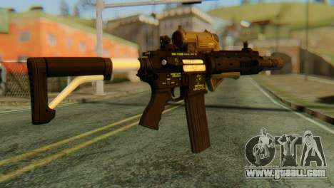 Carbine Rifle from GTA 5 v2 for GTA San Andreas second screenshot