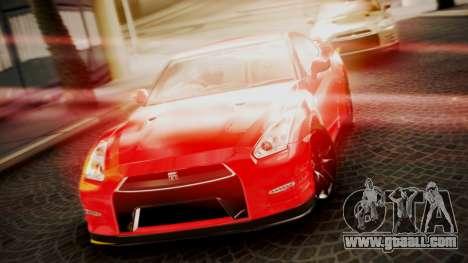 Nissan GT-R 2015 for GTA San Andreas