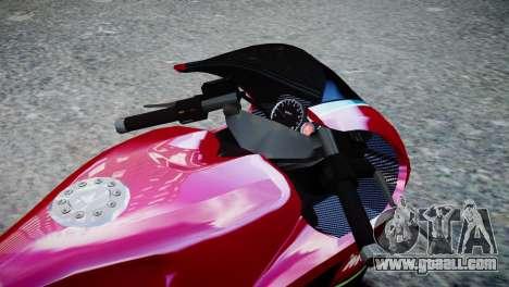 Bike Bati 2 HD Skin 3 for GTA 4 right view