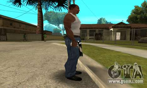 Two Lines Deagle for GTA San Andreas second screenshot