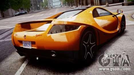 GTA Spano 2013 for GTA 4 left view