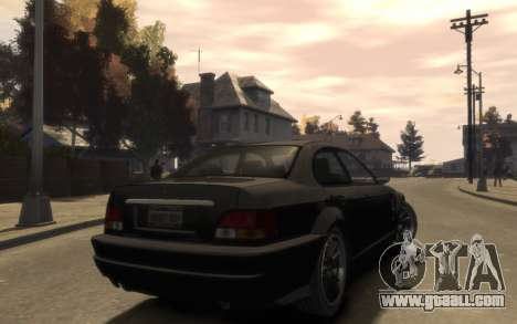 Supremacy Sentinel (XS) 4-door for GTA 4 right view