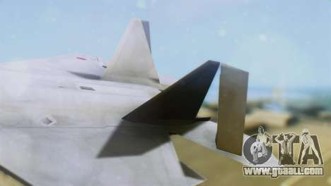 F-15DJ (E) JASDF Aggressor 32-8081 for GTA San Andreas back left view