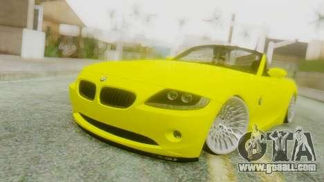 BMW Z4 Construction Ens for GTA San Andreas