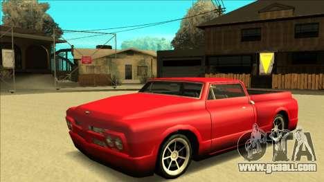 Slamvan Final for GTA San Andreas interior