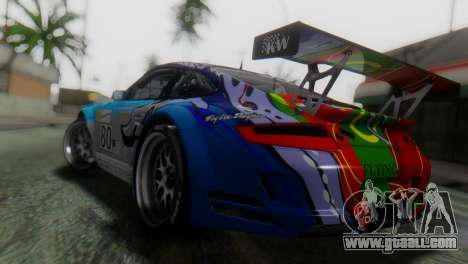 Porsche 911 GT3-RSR for GTA San Andreas left view