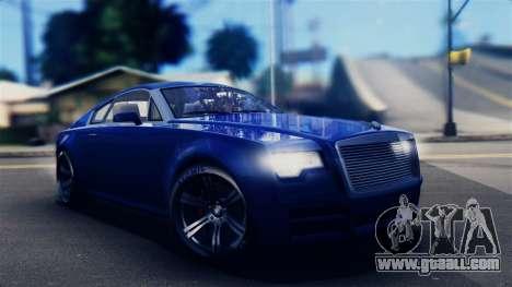 GTA 5 Enus Windsor IVF for GTA San Andreas