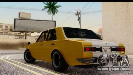 GTA 5 Vulcar Warrener SA Style for GTA San Andreas left view