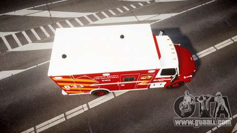 Freightliner M2 2014 Ambulance [ELS] for GTA 4 right view