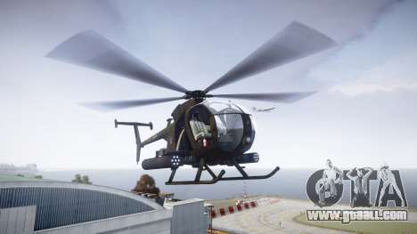 AH-6 Little Bird for GTA 4