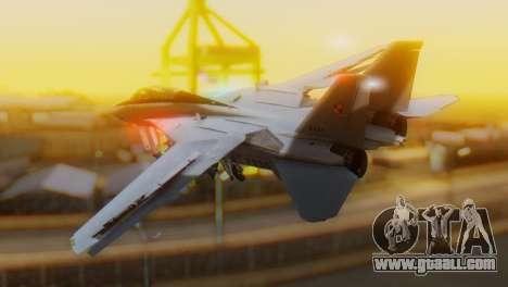 F-14A Tomcat Marynarka Wojenna RP for GTA San Andreas left view