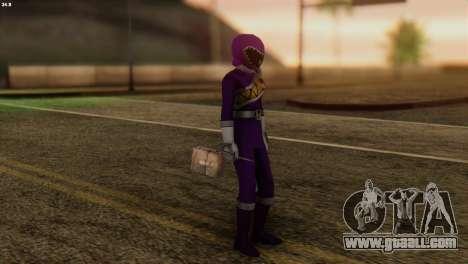 Power Rangers Skin 7 for GTA San Andreas third screenshot