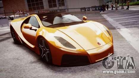 GTA Spano 2013 for GTA 4 right view