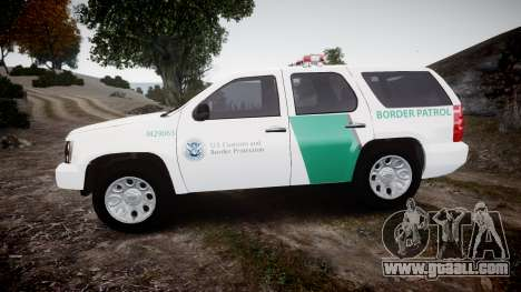 Chevrolet Tahoe Border Patrol [ELS] for GTA 4 left view