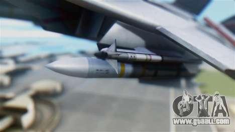 F-14D Super Tomcat Polish Navy for GTA San Andreas right view