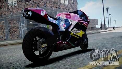 Bike Bati 2 HD Skin 3 for GTA 4 left view