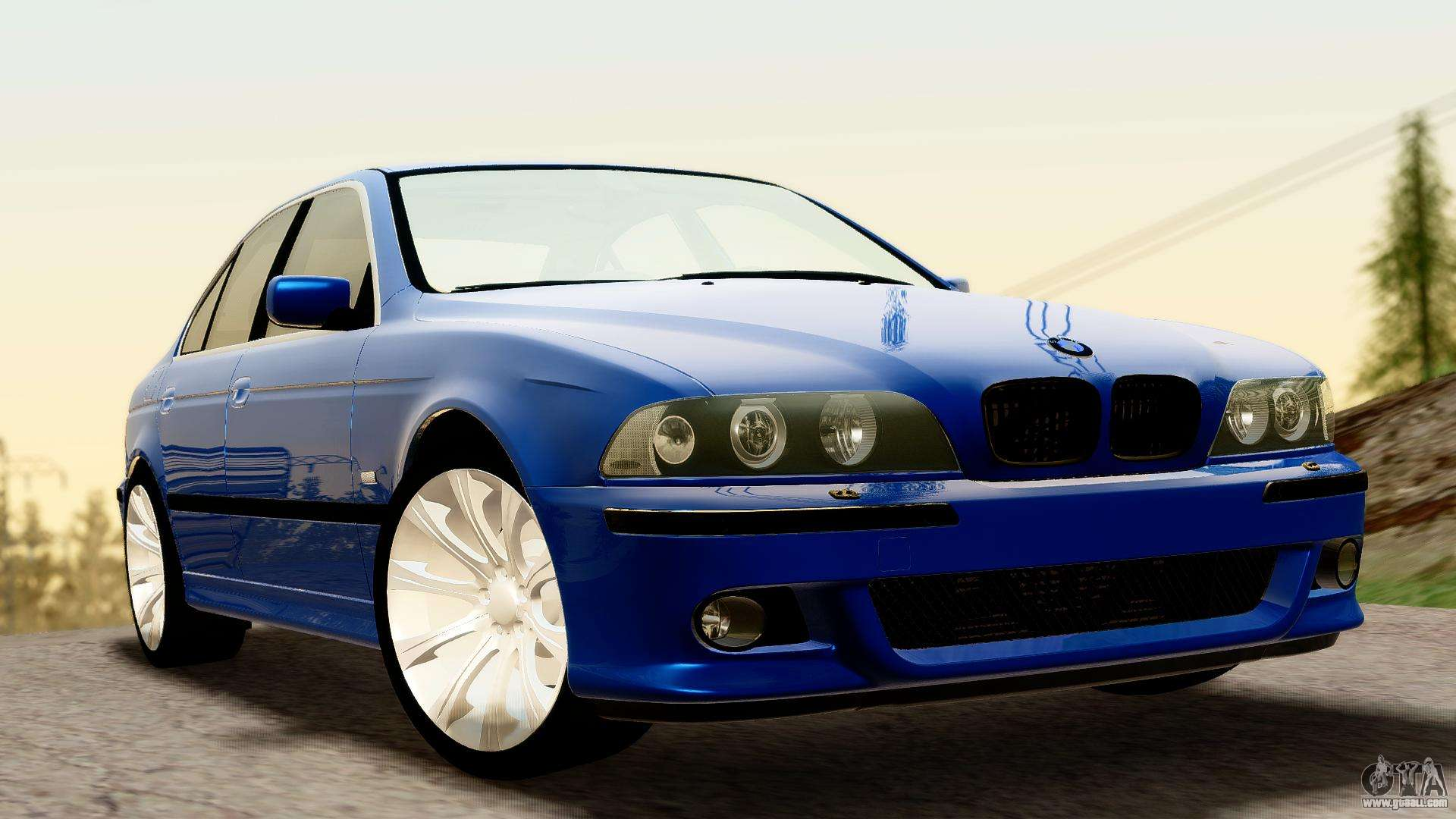 bmw 540i e39 for gta san andreas. Black Bedroom Furniture Sets. Home Design Ideas