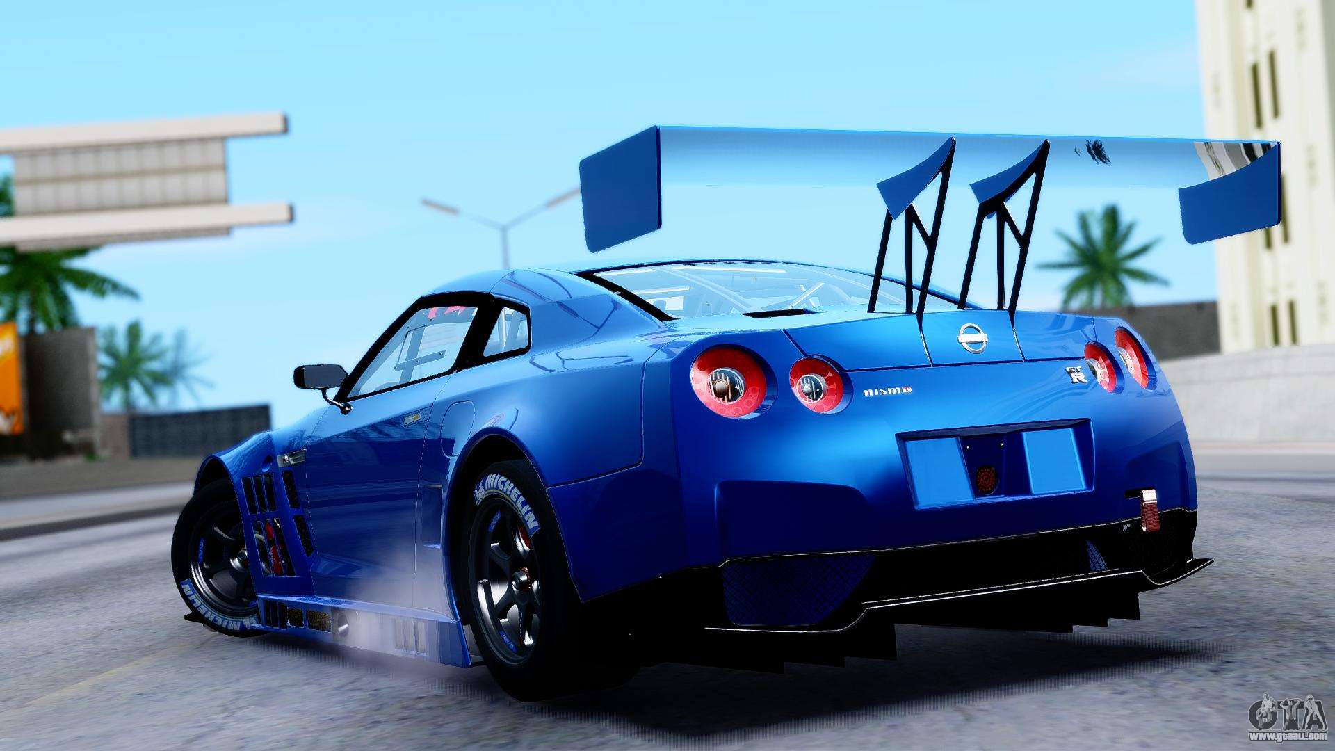 Nissan GT-R (R35) GT3 2012 PJ2 for GTA San Andreas