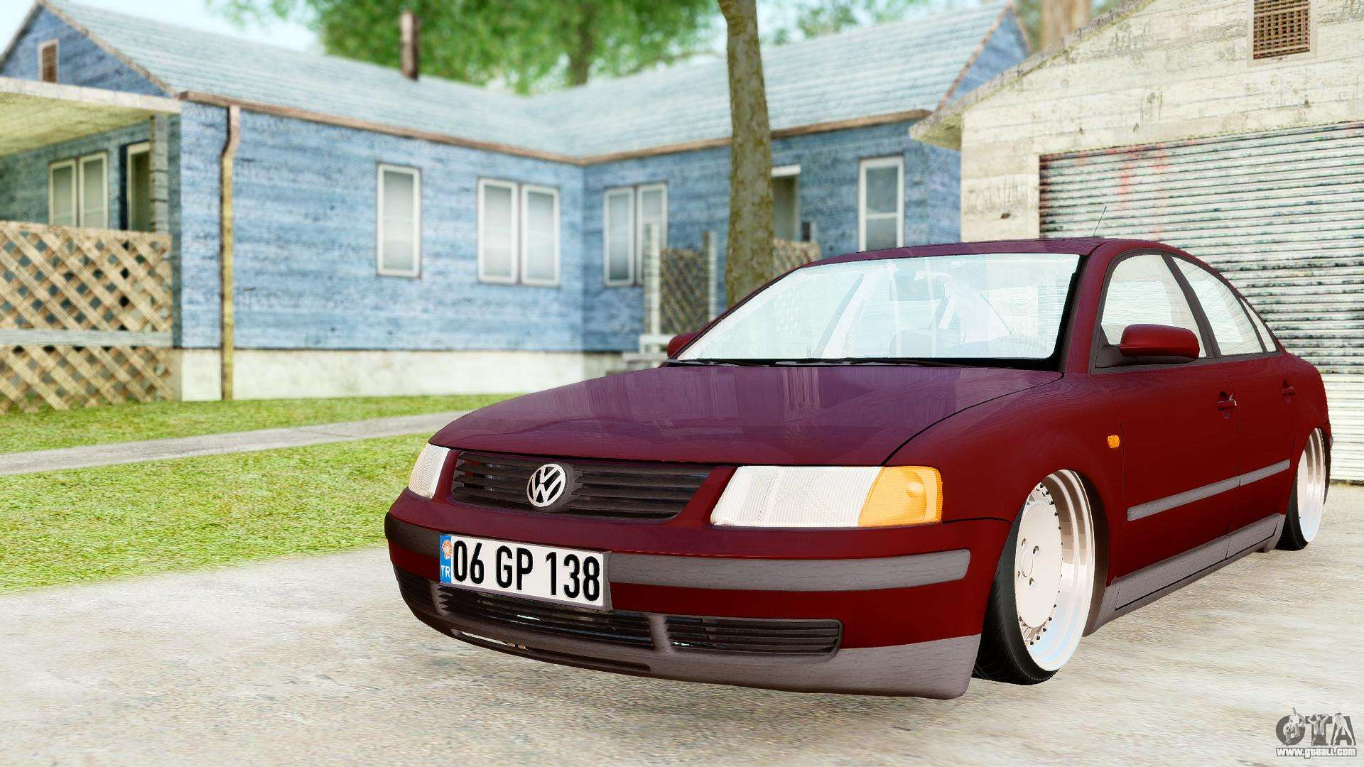 Volkswagen Passat B5 1 8 Adr For Gta San Andreas
