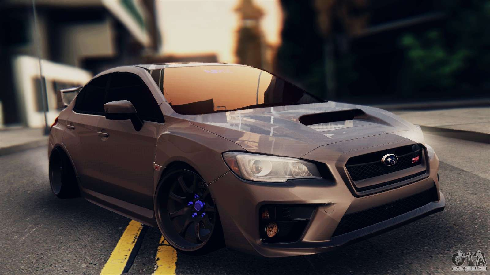 Subaru Impreza Wrx Sti 2015 For Gta San Andreas