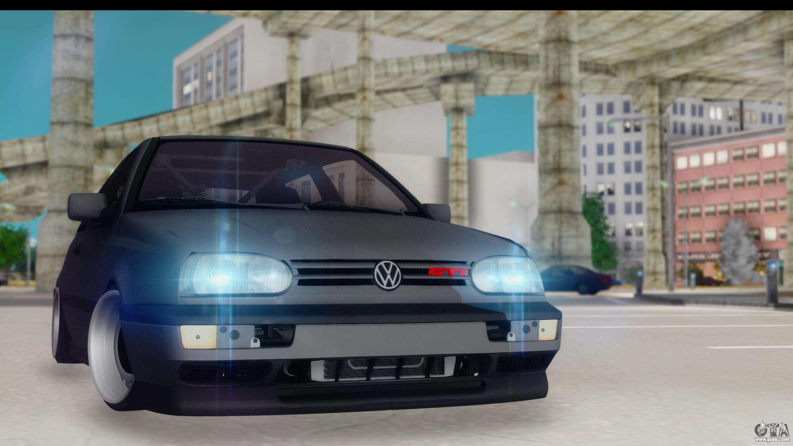 2015 Volkswagen E Golf Glendale >> Volkswagen Golf 3 Stanced for GTA San Andreas