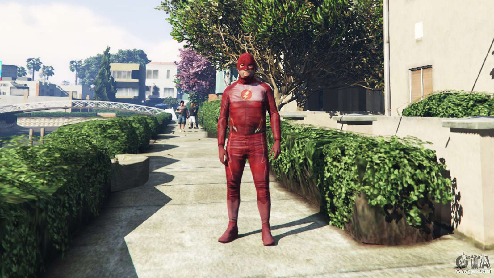 The Flash Costume For GTA 5