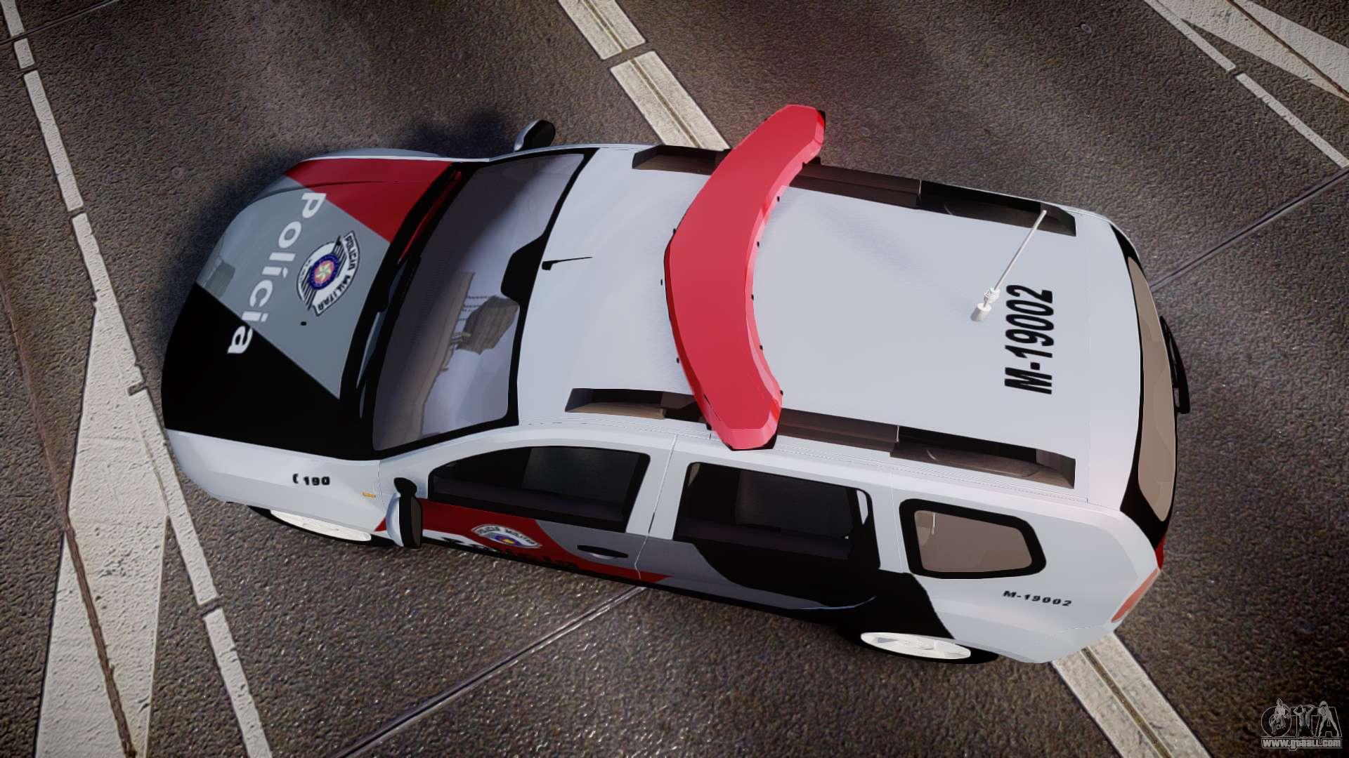 Lada Duster 2015 PMESP [ELS] for GTA 4