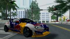 Toyota GT86 Red Bull for GTA San Andreas