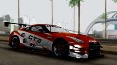 Nissan GT-R (R35) GT3 2012 PJ3 for GTA San Andreas