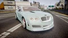Bentley Continental GT Platinum Motorsports for GTA 4