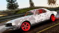 Chevrolet Camaro SS Camo Drift