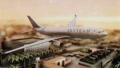 Airbus A330-200 Garuda Indonesia Sky Team