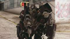 Ironhide Skin from Transformers v3
