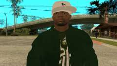 Groove St. Nigga Skin First for GTA San Andreas