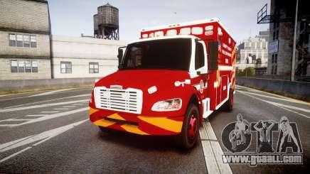 Freightliner M2 2014 Ambulance [ELS] for GTA 4