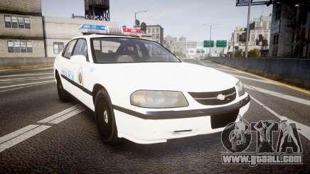 Chevrolet Impala Metropolitan Police [ELS] Traf for GTA 4
