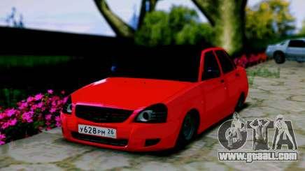 Lada 2170 Priora Spartak Moscow for GTA San Andreas