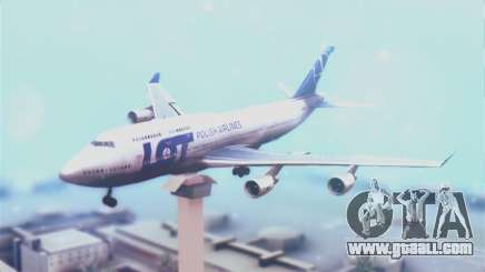 LOT Polish Airlines Boeing 747-400 for GTA San Andreas