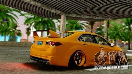 Acura TSX Hellaflush 2010 for GTA San Andreas