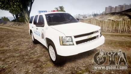 Chevrolet Tahoe Metropolitan Police [ELS] for GTA 4