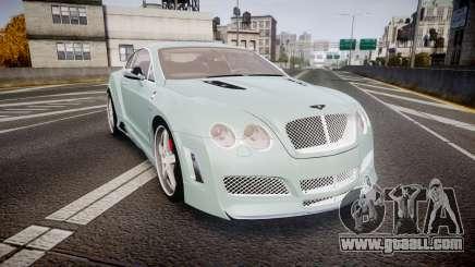 Bentley Continental GT Platinum Motorsports for GTA 4