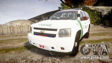 Chevrolet Tahoe Niagara Falls Parks Police [ELS] for GTA 4