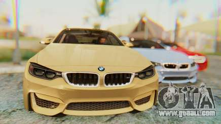 BMW M4 2015 IVF for GTA San Andreas