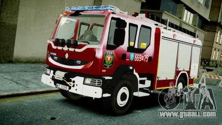 Renault Midlum 300.14 dXi Firetruck for GTA 4