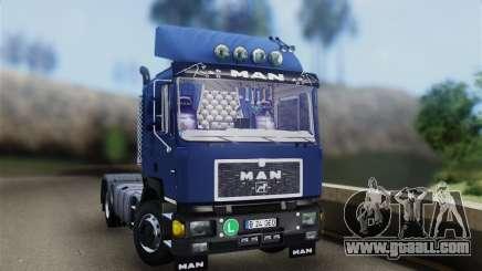 MAN F90 for GTA San Andreas