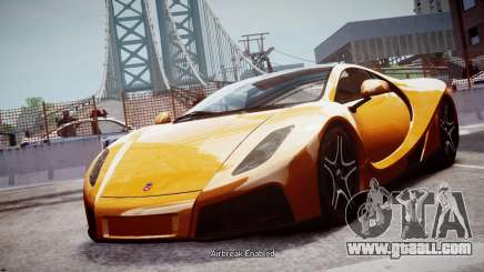 GTA Spano 2013 for GTA 4