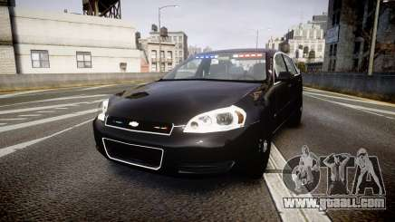 Chevrolet Impala Unmarked Police [ELS] ntw for GTA 4
