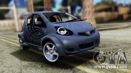 Toyota Aygo Sporting for GTA San Andreas